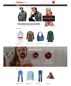 Magento e-shop šablona na téma Móda č. 52187