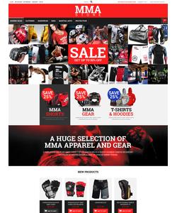 Magento e-shop šablona na téma Sport č. 52240
