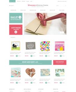 Magento e-shop šablona na téma Svatby č. 52299