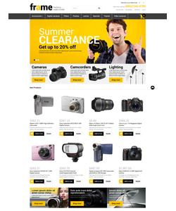 Magento e-shop šablona na téma Elektronika č. 52327