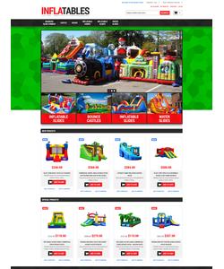 Magento e-shop šablona na téma Zábava č. 52376