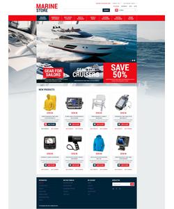 Magento e-shop šablona na téma Sport č. 52389