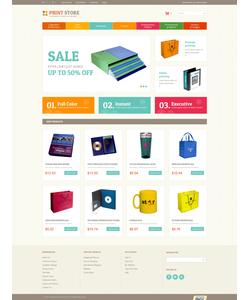 Magento e-shop šablona na téma Umění a fotografie č. 52429