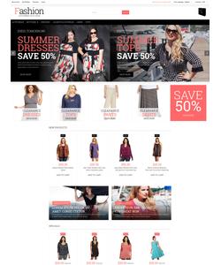Magento e-shop šablona na téma Móda č. 52567
