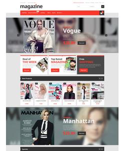 Magento e-shop šablona na téma Média č. 52593
