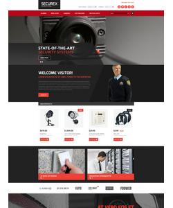 Magento e-shop šablona na téma Bezpečnost č. 52594
