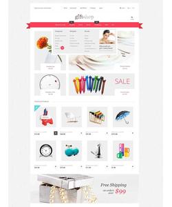 Magento e-shop šablona na téma Dárky č. 52673