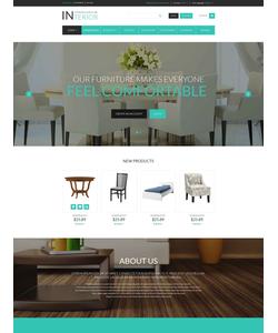 Magento e-shop šablona na téma Interiér a nábytek č. 52693