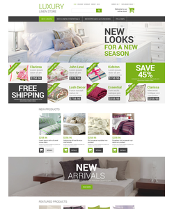 Magento e-shop šablona na téma Interiér a nábytek č. 52810