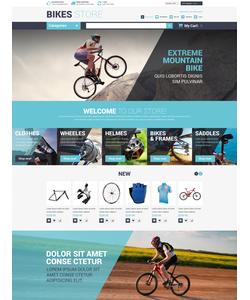 Magento e-shop šablona na téma Sport č. 52865