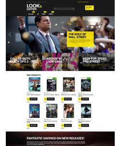 Magento e-shop šablona na téma Média č. 52910