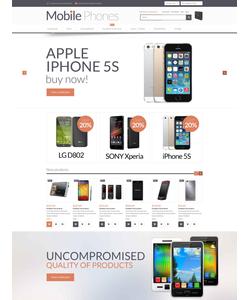 Magento e-shop šablona na téma Elektronika č. 52917