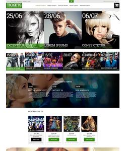 Magento e-shop šablona na téma Zábava č. 52944