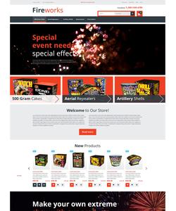 Magento e-shop šablona na téma Zábava č. 53032
