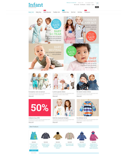 Magento e-shop šablona na téma Rodina č. 53174