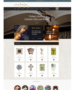 Magento e-shop šablona na téma Náboženství č. 53324