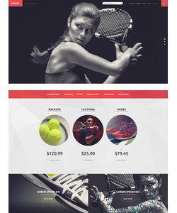Magento e-shop šablona na téma Sport č. 53506