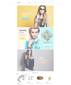 Magento e-shop šablona na téma Šperky č. 53607