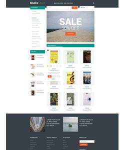 Magento e-shop šablona na téma Knihy č. 53675