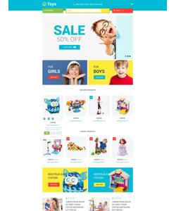 Magento e-shop šablona na téma Zábava č. 53681