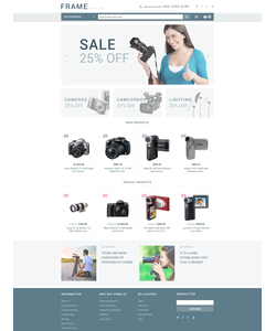 Magento e-shop šablona na téma Elektronika č. 53713