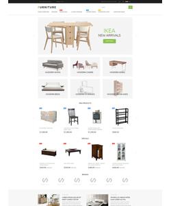 Magento e-shop šablona na téma Interiér a nábytek č. 53791