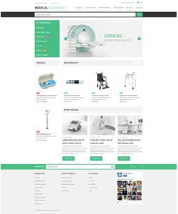 Magento e-shop šablona na téma Lekařské č. 53806