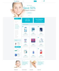Magento e-shop šablona na téma Lekařské č. 53918