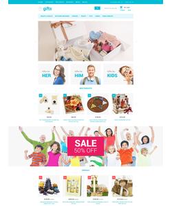 Magento e-shop šablona na téma Dárky č. 54054