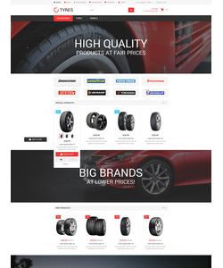 Magento e-shop šablona na téma Auta č. 54541