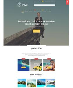Magento e-shop šablona na téma Cestování č. 54689