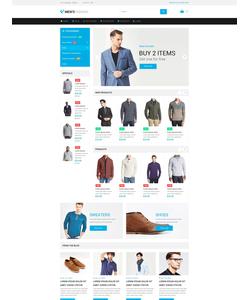 Magento e-shop šablona na téma Móda č. 54795