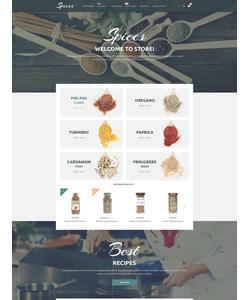 Magento e-shop šablona na téma Jídlo a pití č. 54864