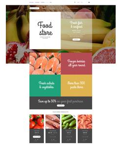 Magento e-shop šablona na téma Jídlo a pití č. 55004