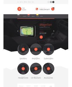 Magento e-shop šablona na téma Auta č. 55217