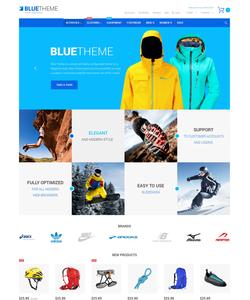 Magento e-shop šablona na téma Sport č. 55248