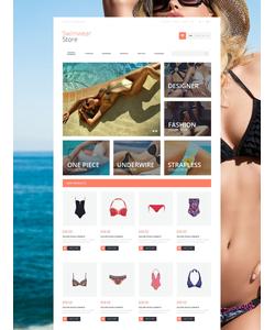 Magento e-shop šablona na téma Móda č. 55259