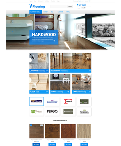 Magento e-shop šablona na téma Interiér a nábytek č. 55267