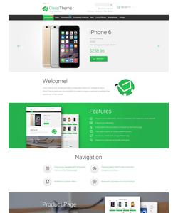Magento e-shop šablona na téma Elektronika č. 55402