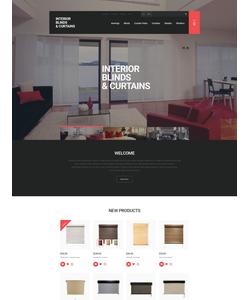 Magento e-shop šablona na téma Interiér a nábytek č. 55470