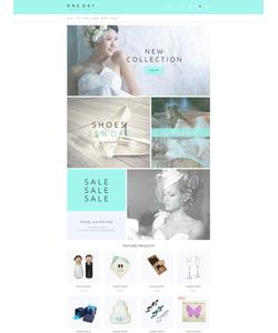 Magento e-shop šablona na téma Svatby č. 55583
