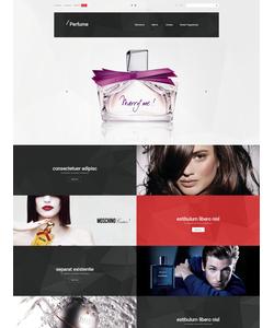 Magento e-shop šablona na téma Krása č. 55621