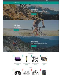 Magento e-shop šablona na téma Sport č. 55698