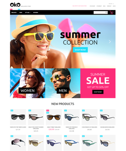 Magento e-shop šablona na téma Móda č. 55707
