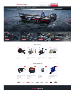 Magento e-shop šablona na téma Sport č. 55708