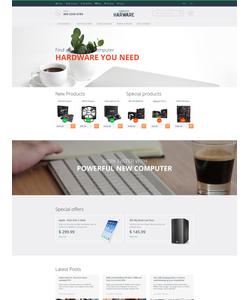 Magento e-shop šablona na téma Počítače č. 55736