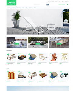 Magento e-shop šablona na téma Venkovní design č. 55765