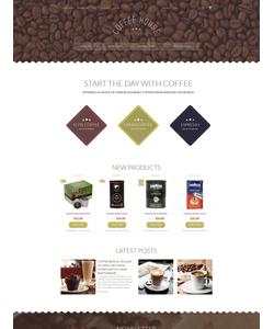 Magento e-shop šablona na téma Café a restaurace č. 55767