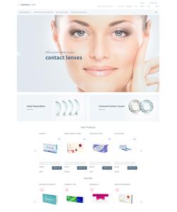 Magento e-shop šablona na téma Lekařské č. 55812