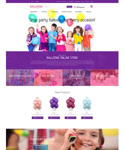 Magento e-shop šablona na téma Zábava č. 55954
